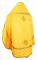 """Русское архиерейское облачение - шёлк Ш3 """"Белозерск"""" (красное-золото) вид сзади, обыденная отделка"""