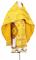 """Русское архиерейское облачение - шёлк Ш4 """"Курск"""" (жёлтое-золото), обыденная отделка"""