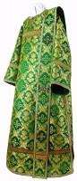Дьяконское облачение из парчи ПГ1 (зелёный/золото)