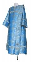 Дьяконское облачение из парчи ПГ2 (синий/серебро)