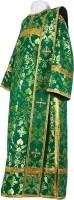 Дьяконское облачение из шёлка Ш4 (зелёный/золото)