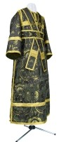 Иподьяконское облачение из парчи ПГ2 (чёрный/золото)