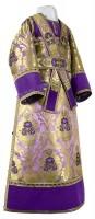 Иподьяконское облачение из парчи ПГ6 (фиолетовый/золото)