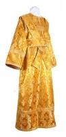 Иподьяконское облачение из шёлка Ш2 (жёлтый-бордо/золото)