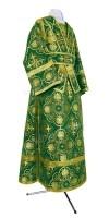 Иподьяконское облачение из шёлка Ш4 (зелёный/золото)