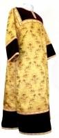 Стихарь клирика из парчи ПГ2 (жёлтый-бордо/золото)