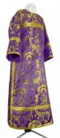 Стихарь клирика из парчи ПГ6 (фиолетовый/золото)