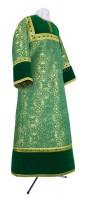 Стихарь алтарника из парчи ПГ1 (зелёный/золото)