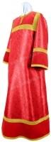 Стихарь алтарника из парчи ПГ5 (красный/золото)