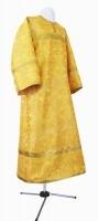 Стихарь детский из парчи П (жёлтый/золото)