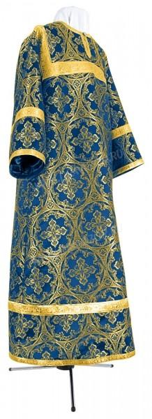 Стихарь детский из парчи ПГ1 (синий/золото)