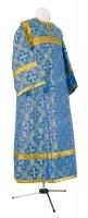 Стихарь детский из шёлка Ш2 (синий/золото)