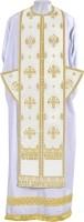 Требный комплект из парчи П (белый/золото)