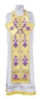 Требный комплект из парчи ПГ4 (фиолетовый/золото)