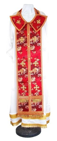 Требный комплект из кит. шёлка ШК (красный/золото)