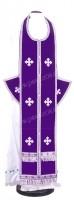 Требный комплект из нем. бархата (фиолетовый/серебро)