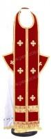 Требный комплект из нем. бархата (красный/золото)