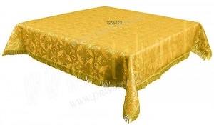 Пелена на престол/жертвенник из парчи П (жёлтый/золото)