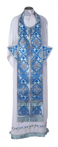 Требный комплект из шёлка Ш2 (синий/серебро)