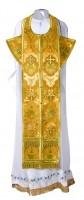 Требный комплект из шёлка Ш2 (жёлтый/золото)