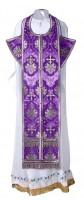 Требный комплект из шёлка Ш2 (фиолетовый/серебро)