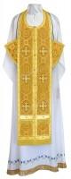 Требный комплект из шёлка Ш3 (жёлтый/золото)