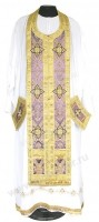 Требный комплект из шёлка Ш3 (фиолетовый/золото)