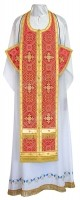 Требный комплект из шёлка Ш3 (красный/золото)