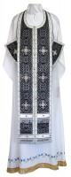 Требный комплект из шёлка Ш3 (чёрный/серебро)
