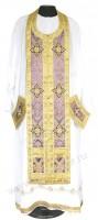 Требный комплект из шёлка Ш4 (фиолетовый/золото)