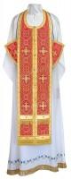 Требный комплект из шёлка Ш4 (красный/золото)