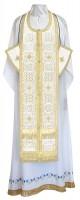 Требный комплект из шёлка Ш4 (белый/золото)