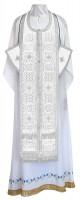 Требный комплект из шёлка Ш4 (белый/серебро)