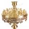 Подсвечник напольный - 87 (24 свечи) с литьем (верх)