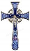 Крест напрестольный №4-1 (синий)