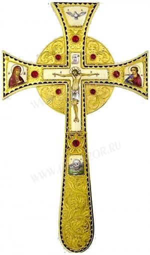 Крест напрестольный - 34 (Мальтийский)