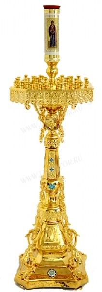 Церковный напольный подсвечник №36 (59 свечей)