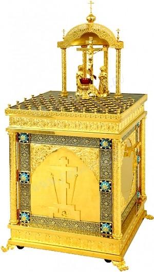 Панихидный стол №20 (80 свечей)