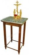 Панихидный стол с Голгофой