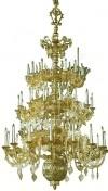 Трёхъярусное церковное паникадило - 8 (45 свечей)
