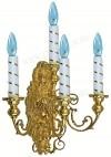 Лампа настенная №2 (4 свечи)