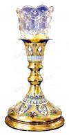 Церковная лампада №3a (эмаль)