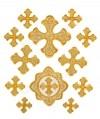 """Вышитые кресты """"Звенигород"""""""