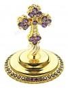 Крест на митру ювелирный - А614 (золочение)