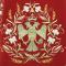 """Русское вышитое архиерейское облачение - """"Византийский орёл"""" (бордо-золото) (деталь), обиходная отделка"""