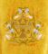 """Русское вышитое архиерейское облачение - """"Византийский орёл"""" (жёлтое-золото) (деталь), обиходная отделка"""