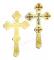 Крест напрестольный - A543 (вид сзади)
