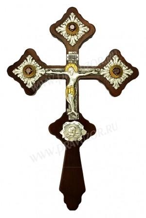 Крест напрестольный на дереве - А606