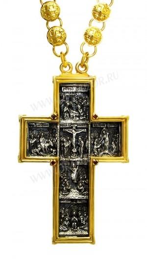 Крест наперсный - А184 (с цепью)