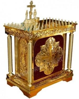 Столик панихидный (канун) №547s (100 свечей)